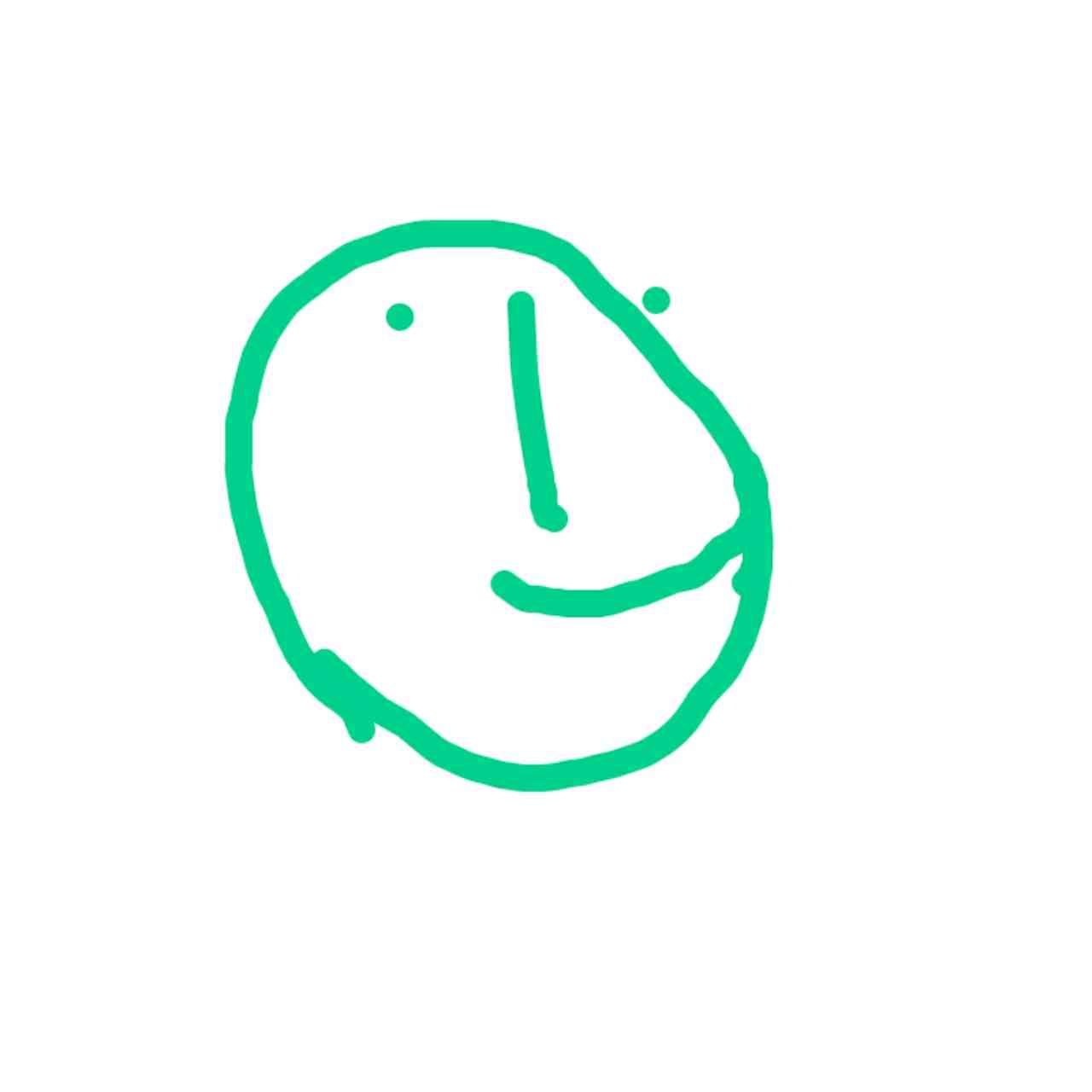 目を瞑って絵を描こう