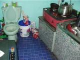 トイレがすごい新築物件の間取りが話題にw