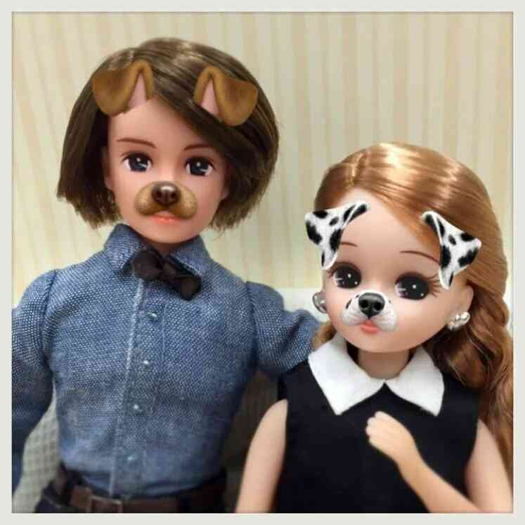 リカちゃん人形の画像を貼るトピ