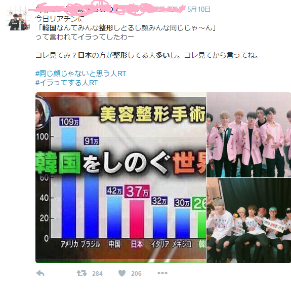 """日本は世界3位の""""整形大国""""だった「10代で初めての施術」が2割超"""