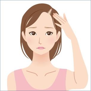 髪の分け目は定期的に変えてますか?