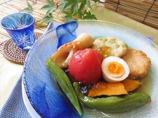 夏においしい冷たい料理