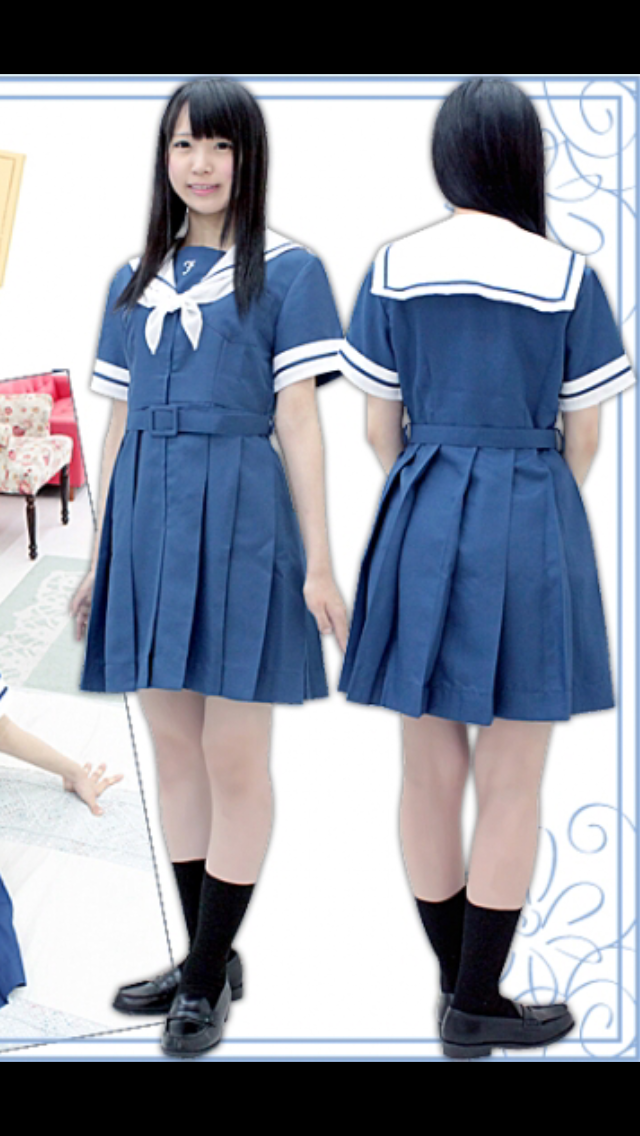 憧れの制服