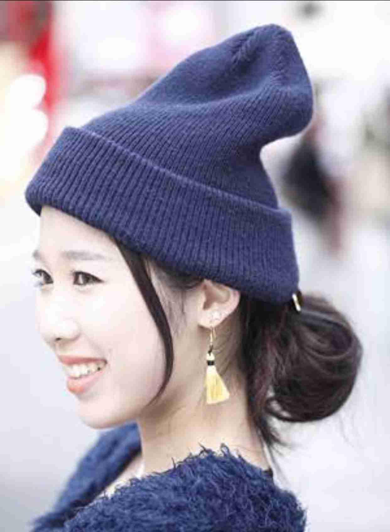 ニット帽が好きな人