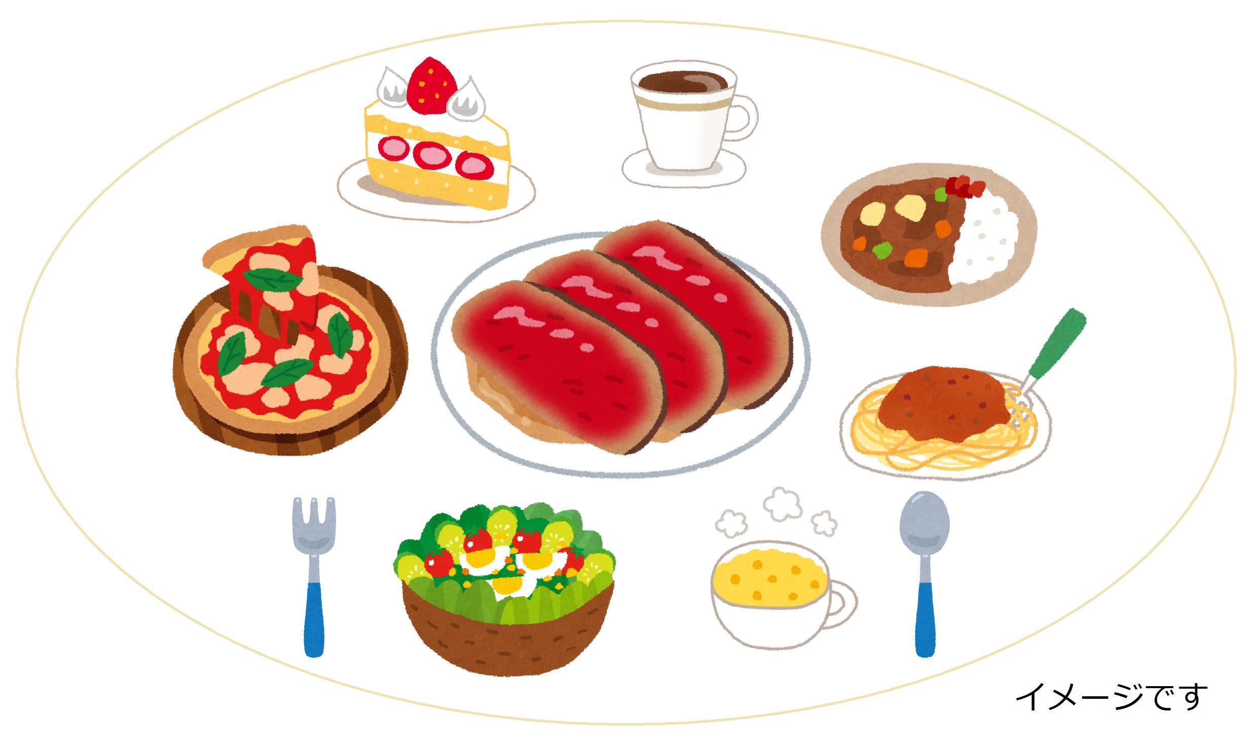 1日何食食べますか?