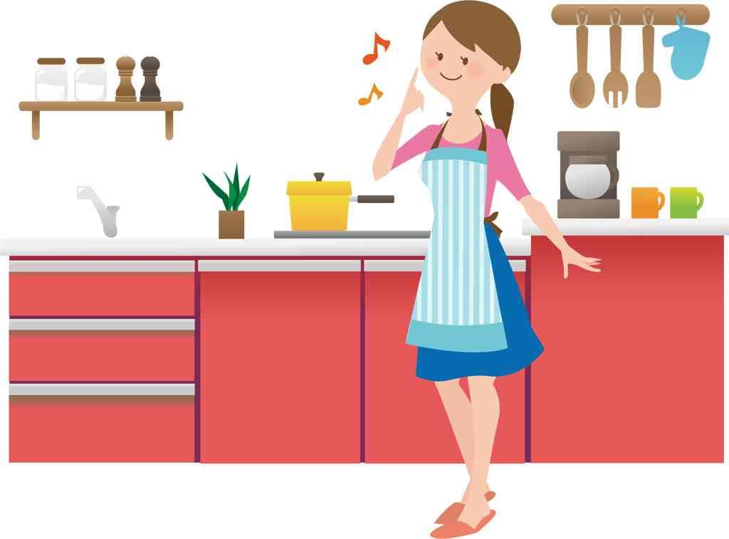 キッチンが狭い人〜!