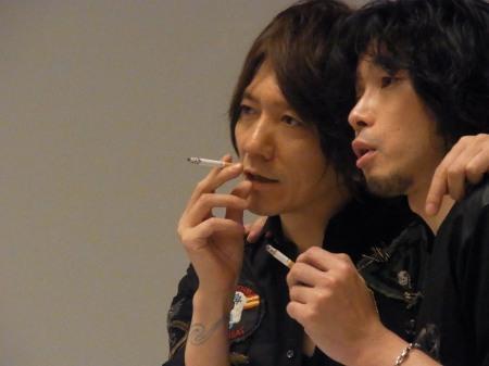 煙草を吸っている姿が様になっている有名人の画像を貼るトピ