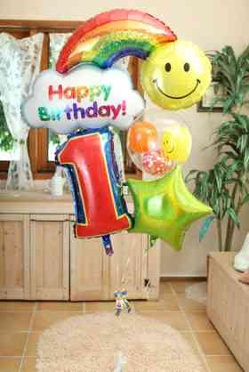 一歳の誕生日プレゼント