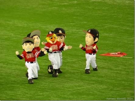 野球選手と球団マスコットの画像を貼っていくトピ