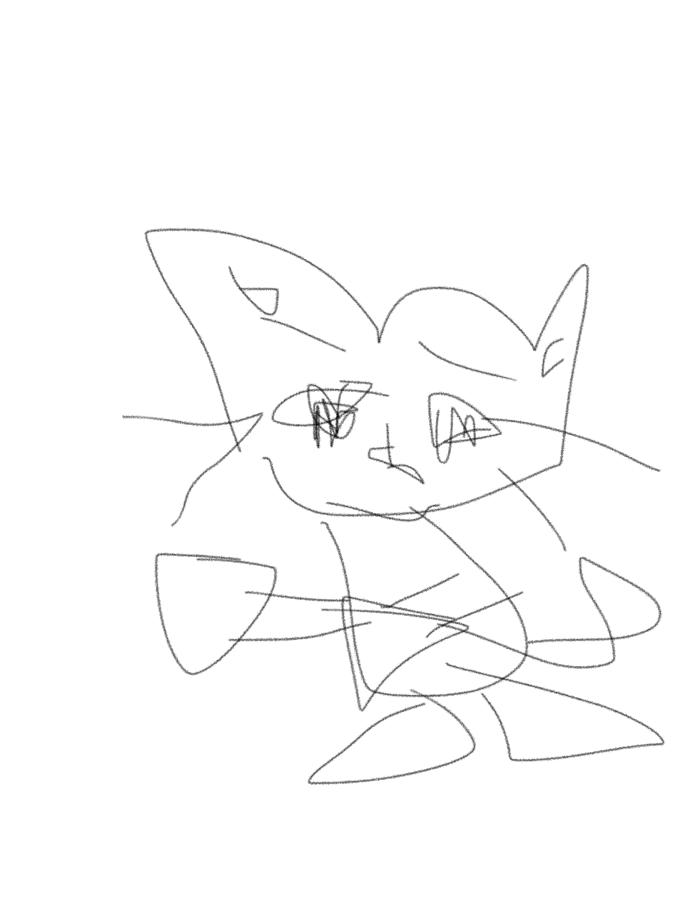 猫の絵描こう