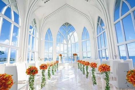 結婚式、どこでしました?