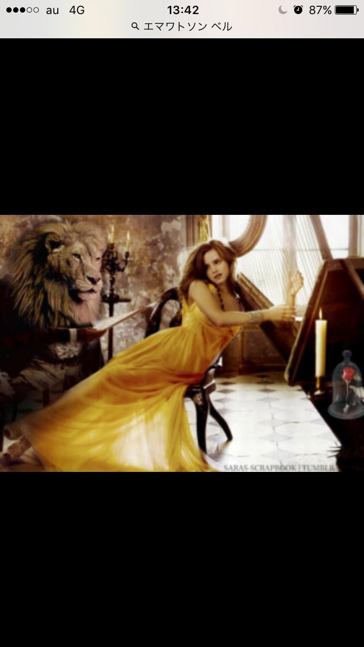 【エマ・ワトソン】実写「美女と野獣」の予告ムービー公開!完成度たっか!