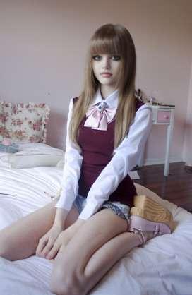 お人形さんみたいになる方法