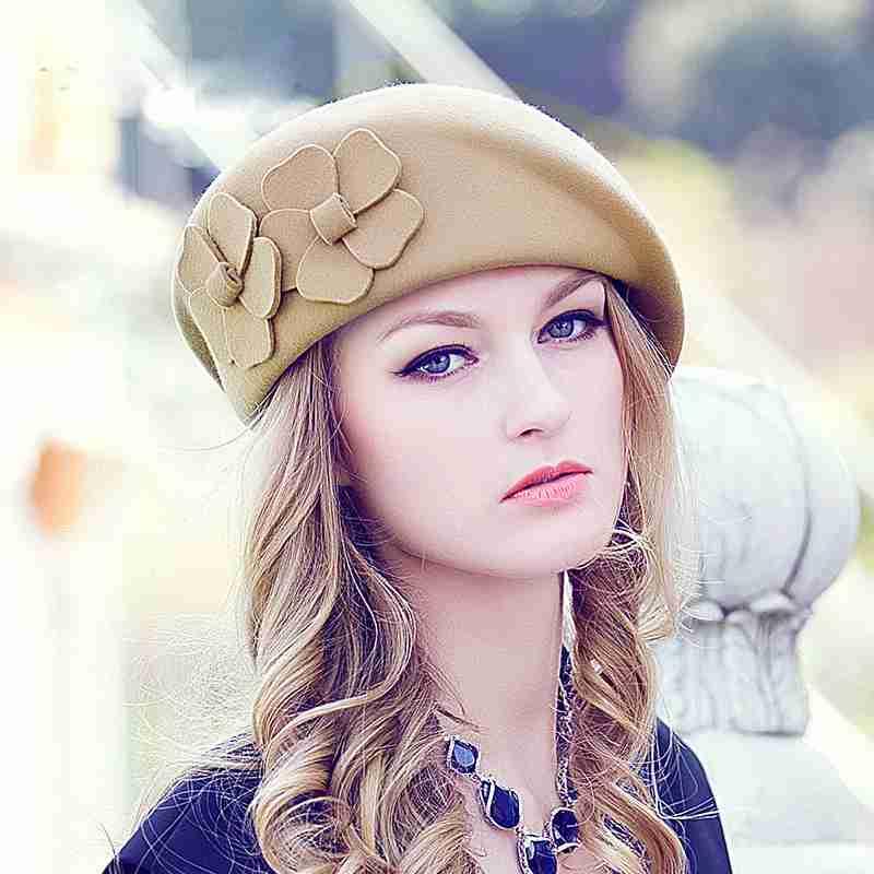 ベレー帽のコーデ