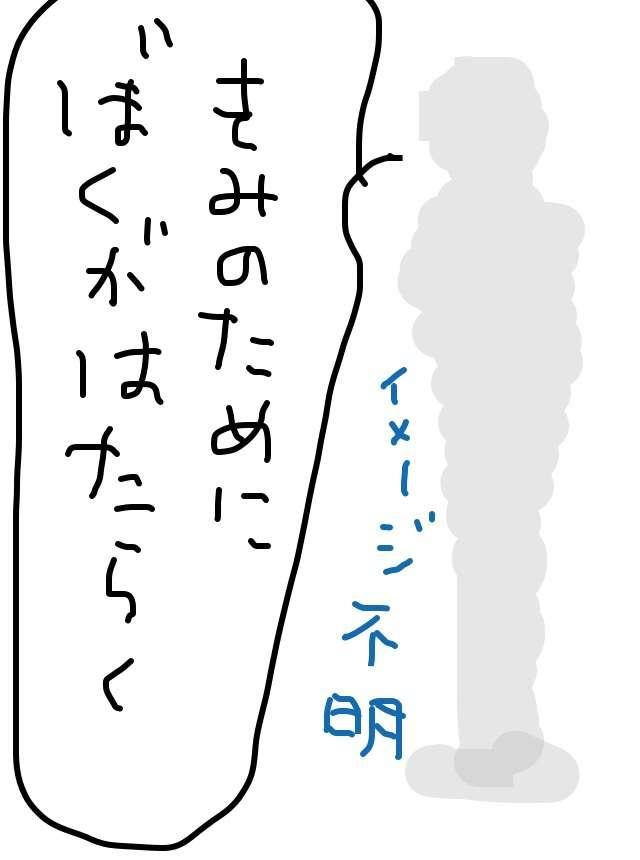 理想の結婚相手を絵と文で描いてみるトピ
