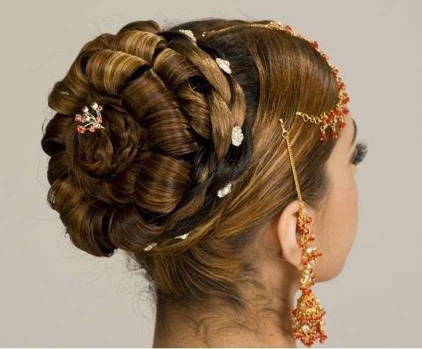 美しいヘアアレンジの画像を貼るトピ