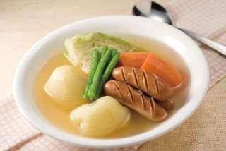 今日食べた温かい食べ物教えてください!