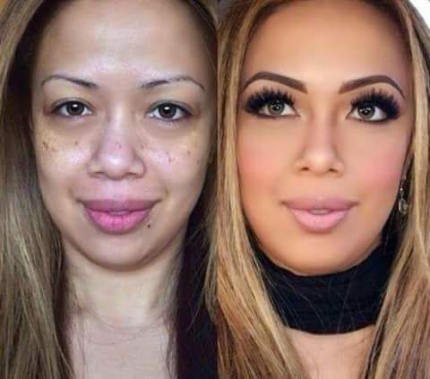 化粧映えする顔って?
