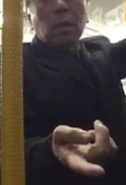 【動画】老人「優先席譲れ!日本語通じないのか?」若者「そういう人に譲りたくないわ」