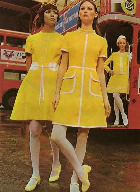 おしゃれな昔のファッションを貼ろう!