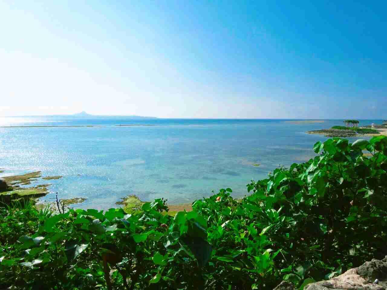 沖縄らしい風景を貼るトピ