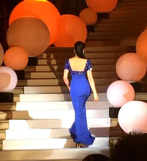 """藤原紀香 いま最も輝いている女性""""「SNOWQUEEN」としてドレス姿で点灯式出席"""