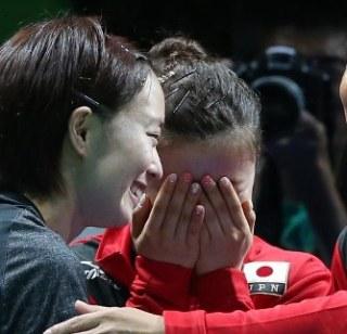 福原愛&江宏傑夫妻「ビストロSMAP」に初来店! SMAPと卓球対決も
