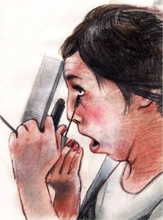女の化粧と男の髭剃りは同じか 「車内化粧」でカンニング竹山の主張が話題