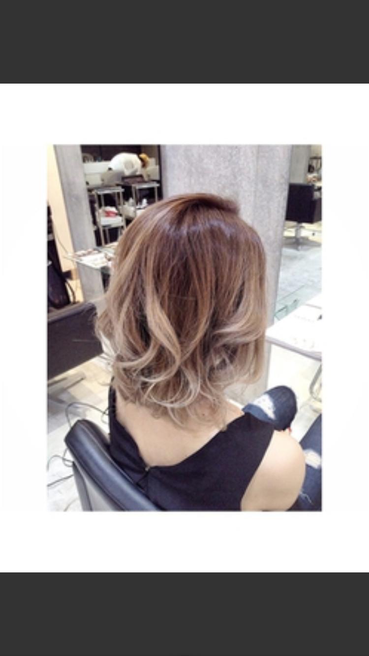 今現在、どんな髪色ですか?