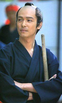 武士姿のかっこいい堺雅人