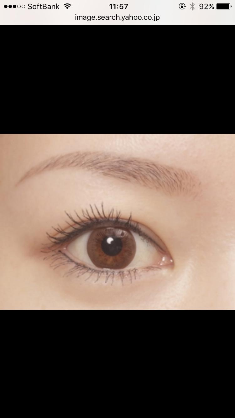 理想の眉毛