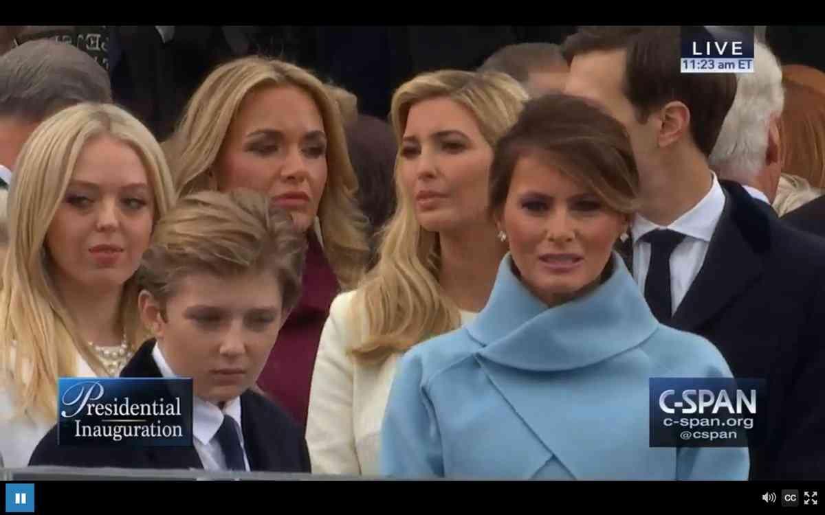【実況・感想】トランプ米大統領就任式