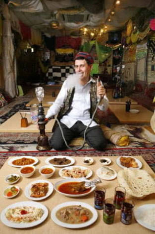 モロッコ料理、中東の料理好きな人!