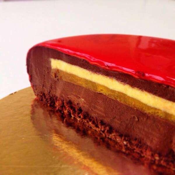 製作日数は3日、まるでガラス細工なムースケーキ
