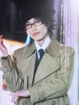 【画像】メガネ姿のイケメン♪