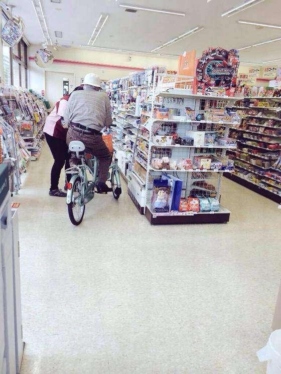 高齢者の自転車について