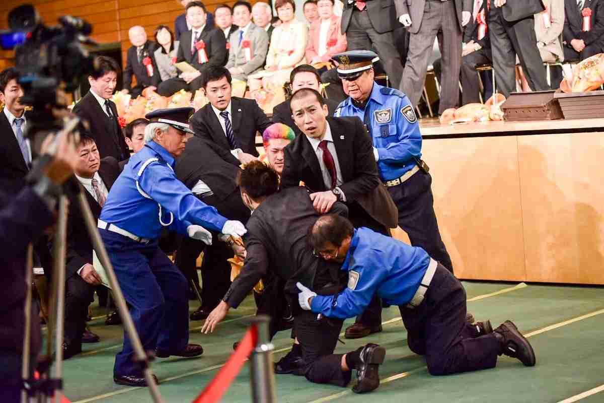 茨城・つくば市で19歳の新成人逮捕 成人式で警察官の職務妨害容疑