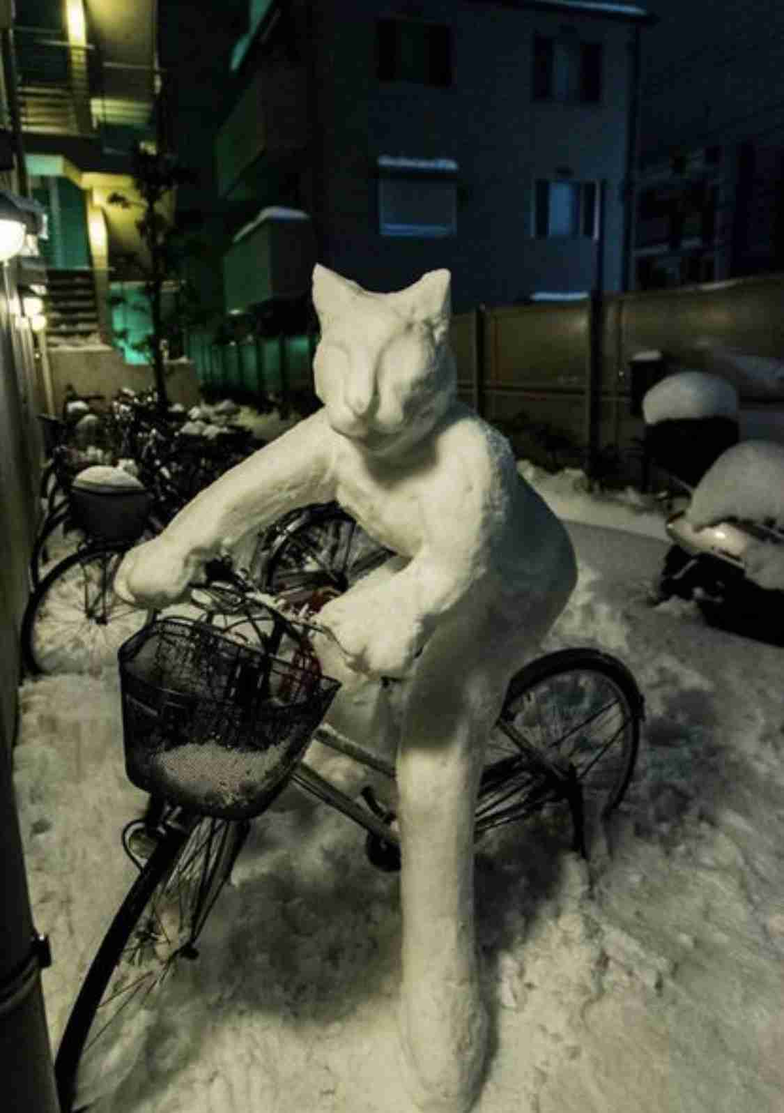 雪だるまの画像を貼るトピ
