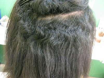 くせ毛を生かしたヘアスタイル