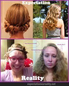 本当はやりたい髪型と現実の髪型