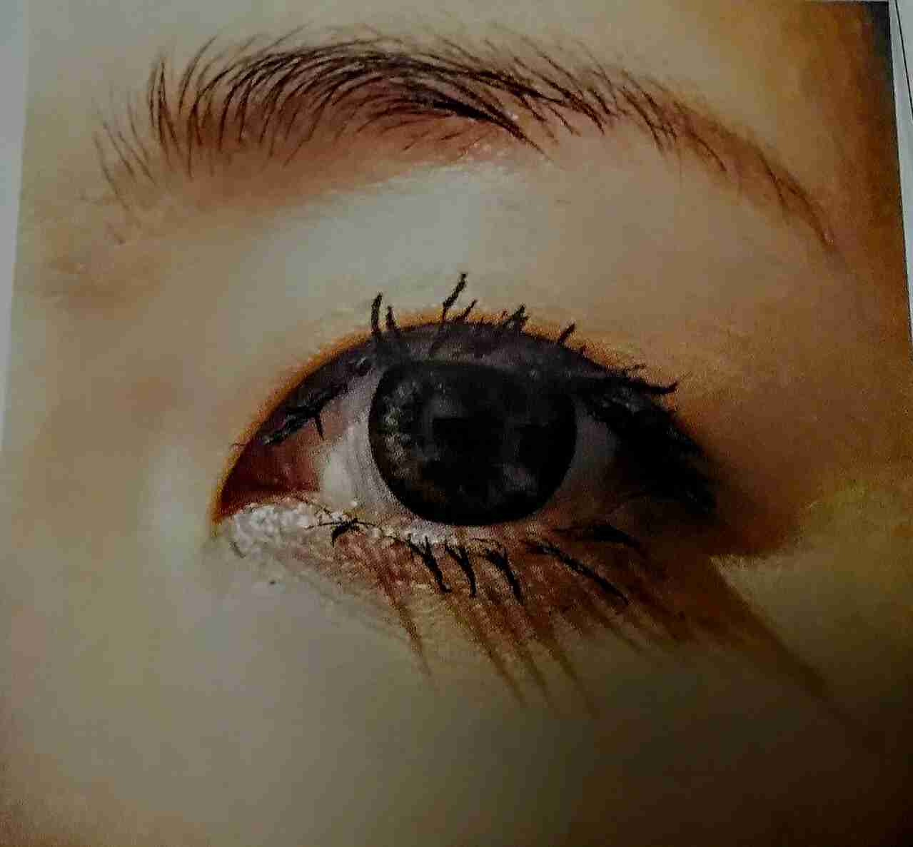 目が小さい人のメイク