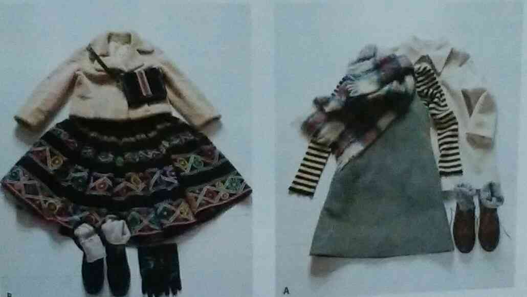 ナチュラル系ファッションが好き