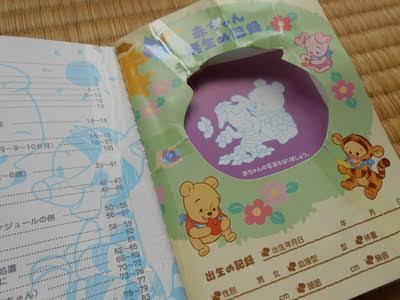 母子手帳 妊娠中から20歳まで 長期記録できます