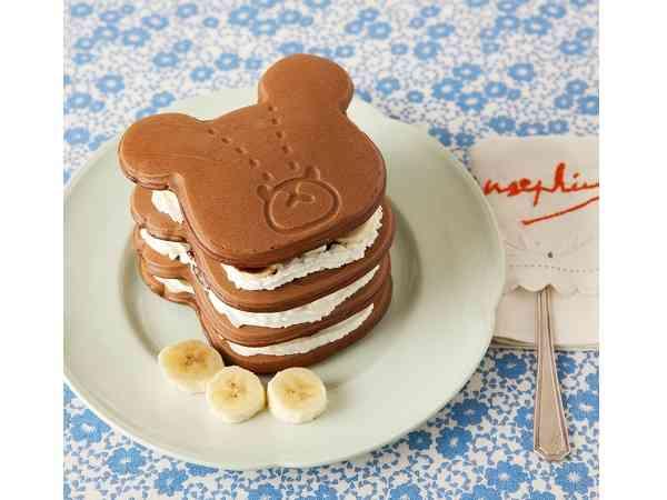 美味しそうなパンケーキの画像を貼るトピ