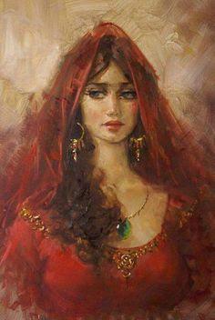 美しい女性の絵がみたい!