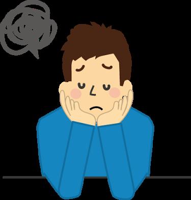 ストレスによって現れる体の異変