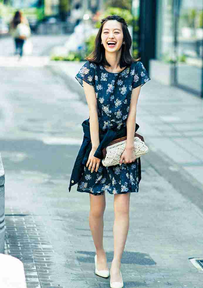 春にしたい花柄ファッション
