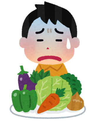 野菜についてる虫が怖い人!