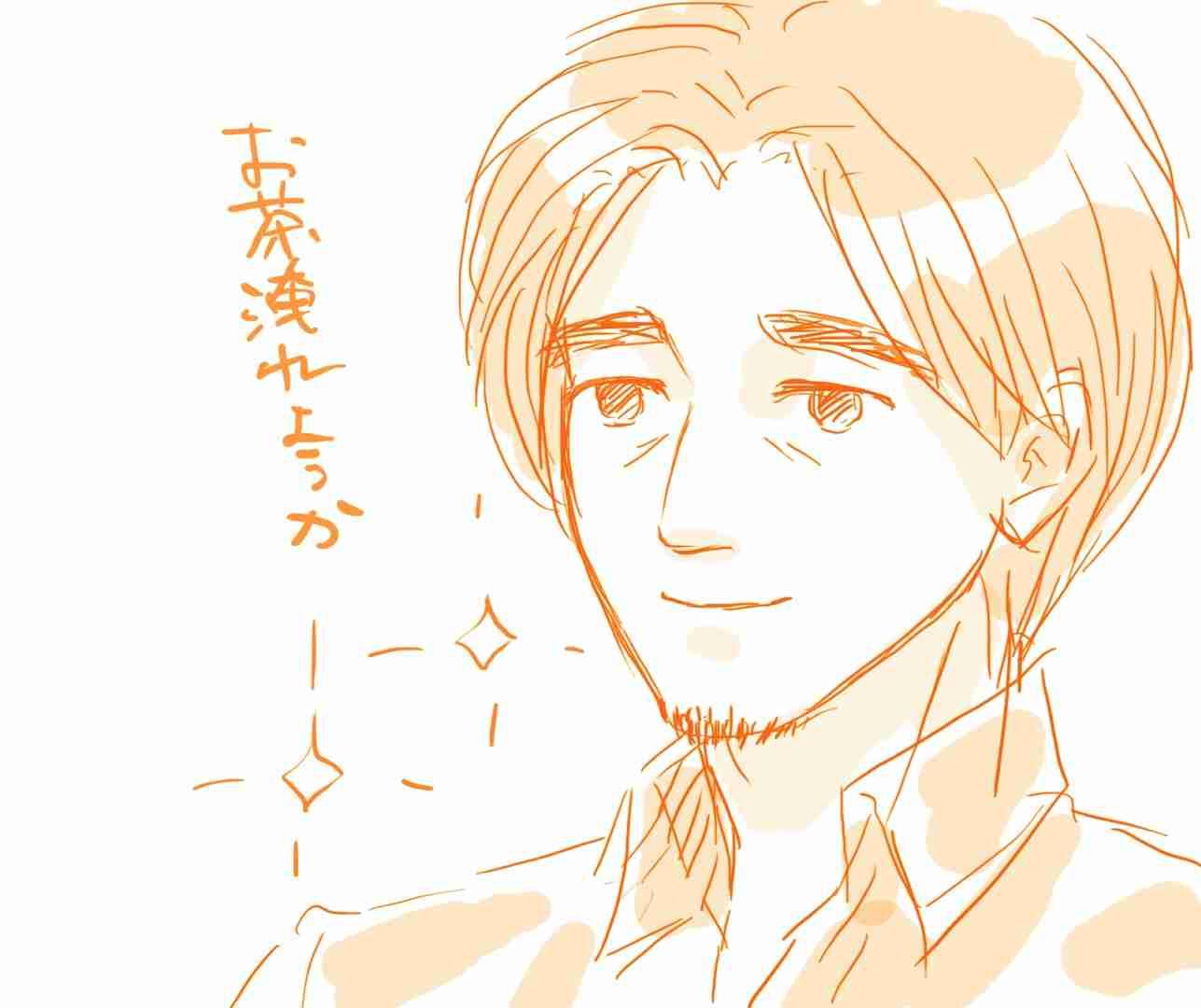 (絵トピ)彼氏、旦那を美化して描いてみよう