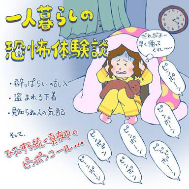 一人暮らしの恐怖【人間編】